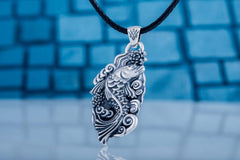 Ancient Smithy VW jewelry Fish Pendant Sterling Silver Jewelry