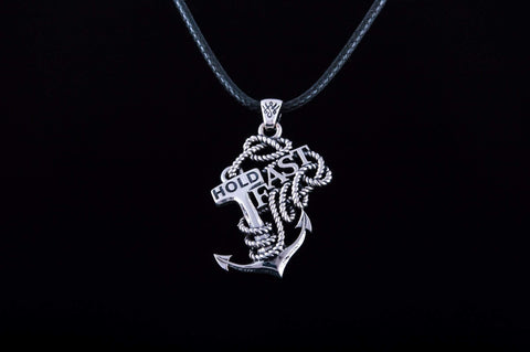 Ancient Smithy VW jewelry Anchor Pendant Sterling Silver Sailor Jewelry