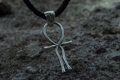 Ancient Smithy VW jewelry Ankh Symbol Egypt Pendant Sterling Silver Unique Jewelry