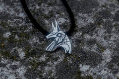 Unique Handmade Anubis Egypt Pendant Sterling Silver Viking Jewelry