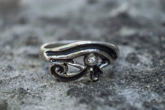 Ancient Smithy VW jewelry Uadjet Ring Sterling Silver Egypt Jewelry