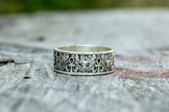 Egypt Ring Sterling Silver Handcrafted Jewelry