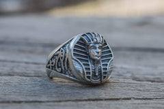 Egypt Handmade Ring Sterling Silver Jewelry