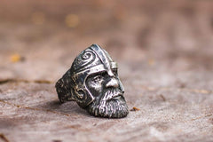 Ancient Smithy VW jewelry Viking Ring Sterling Silver Scandinavian Ring Norse Jewelry