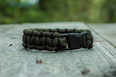 Ancient Smithy VW jewelry Olive Paracord Survival Handmade Bracelet SPB-003