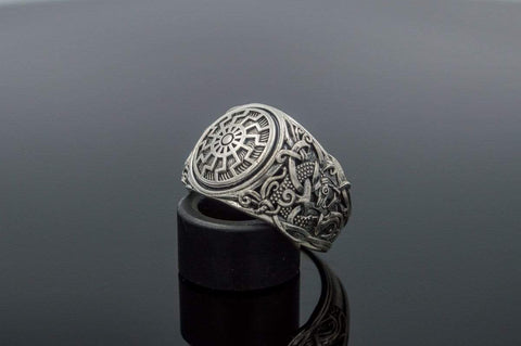 Ancient Smithy VW Rings Sun Ethnic Ring Esoteric Scandinavian Jewelry