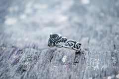 Ancient Smithy VW Rings Fenrir or Fenrisúlfr Giant Wolf Ring Scandinavian Mythology Jewelry