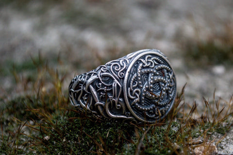 Ancient Smithy VW Rings The Midgard (World) Serpent  Powerful Amulet  Ring