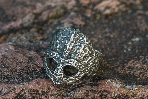 Ancient Smithy VW Rings Awesome Vintage Helmet Ring Original Jewelry