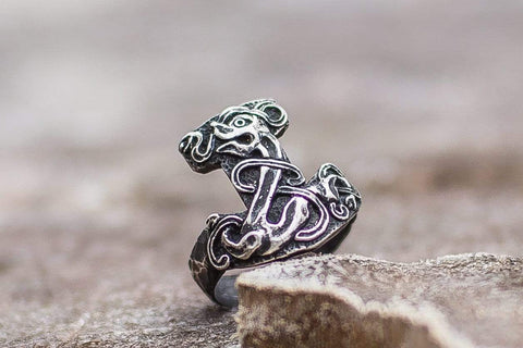 Ancient Smithy VW Rings Thor's Hammer Mjolnir Ring Original Jewelry