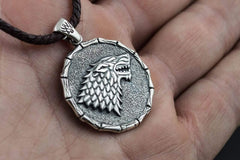 Ancient Smithy VW jewelry Stark Pendant Game of Thrones Sterling Silver Jewelry