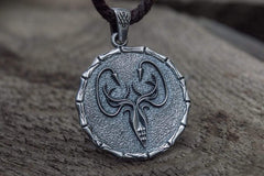 Ancient Smithy VW jewelry Greyjoy House Pendant Game of Thrones Sterling Silver Jewelry