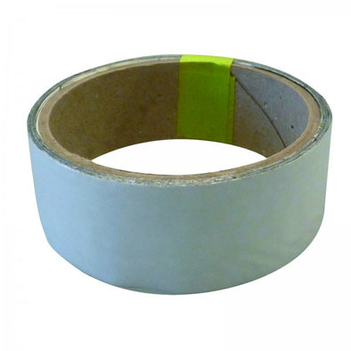 Heat Foil Tape 35mm x 4.5mt Silver Rated -55c to +150c, adhesive backed