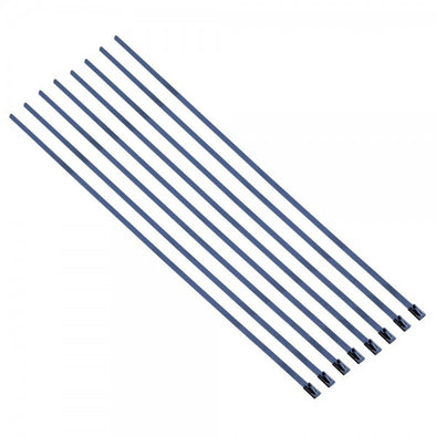 "Stainless Steel Locking Ties 200mm (8"") long for Exhaust Wrap-Pack 8"