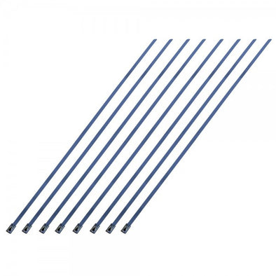 "Stainless Steel Locking Ties 355mm (14"") long for Exhaust Wrap-Pack 8"