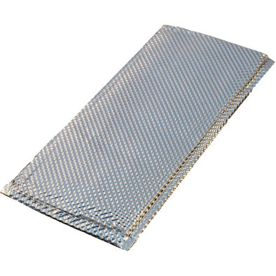 Inferno Heat Shield Stainless with Inner Ceramic Pad 150mm x 355mm