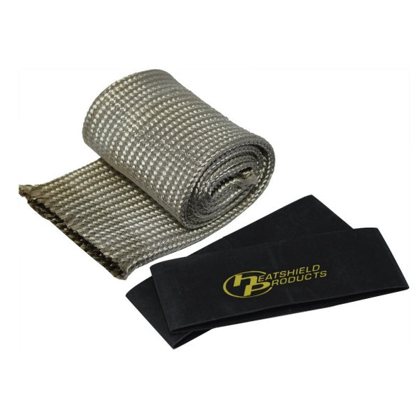 Thermal Hose Heat Protection Sleeving 44-60mm x 90cm suit hoses. Rated to 650°C