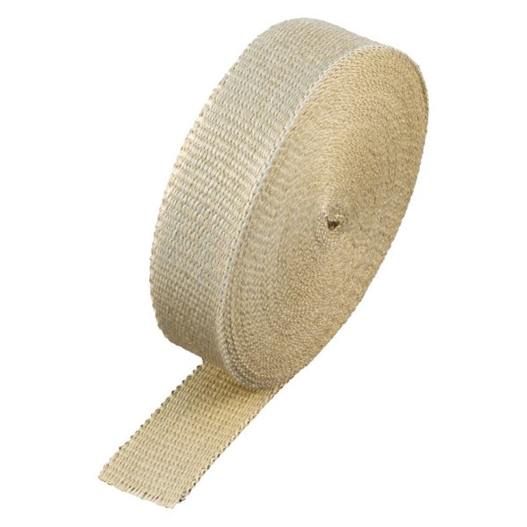 "Fawn Coloured Exhaust Wrap 50mm(2"") Wide x 30mt(100ft) Roll 650⁰C Continuous"