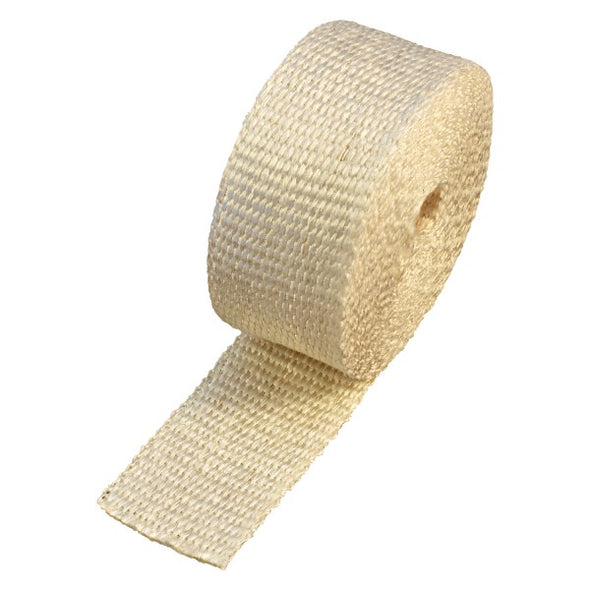 "Inferno Exhaust Wrap 50mm(2"") x 7.5mt(25ft) Roll 1090⁰C Continuous"