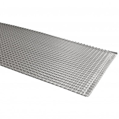 Heat Shield 275mm x 700mm x 3.5mm. Withstands 900°C intermittent reflective heat