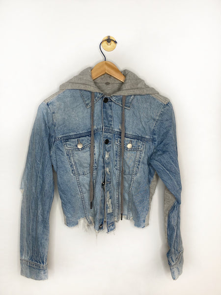 Lauren's DL1961 Jean Jacket with Built in Hoodie