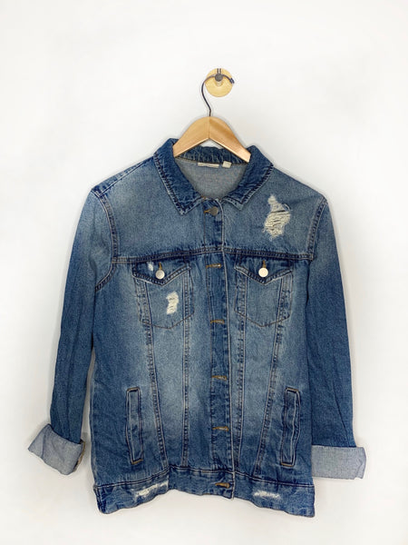Lauren's BP Nordstrom's Distressed Jean Jacket