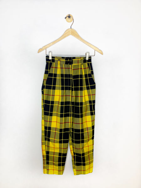 Kat's Love Too True Plaid Pants - Rhymes With Orange