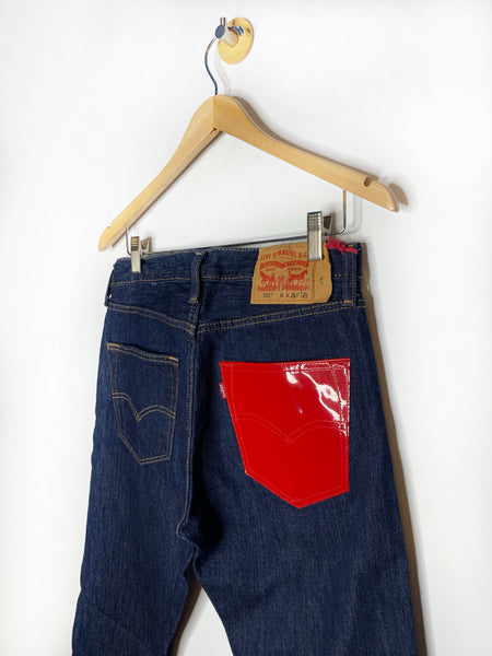Jodi's Levi's x Karla Original Red Pocket 501