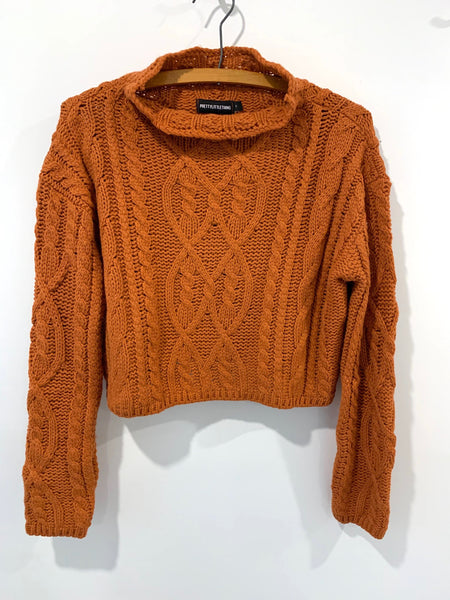 Richie's Pretty Little Thing Knit Sweater - Rhymes With Orange