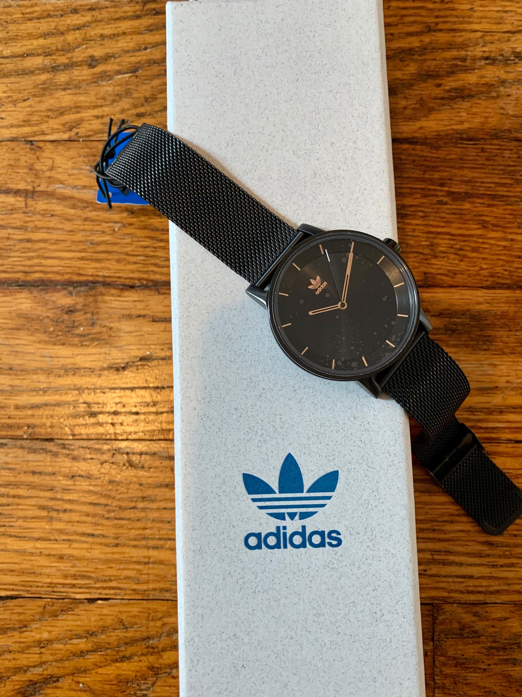 Jodi's Adidas Black and Copper Watch - Rhymes With Orange