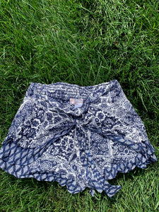 Lauren's Band of Gypsies Paisley Shorts - Rhymes With Orange