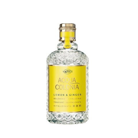 CODA Cosmetics Eau de Cologne Lemon & Ginger 4711