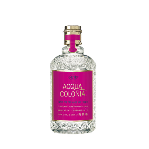 CODA Cosmetics Eau de Cologne Pink Pepper & Grapefruit 4711