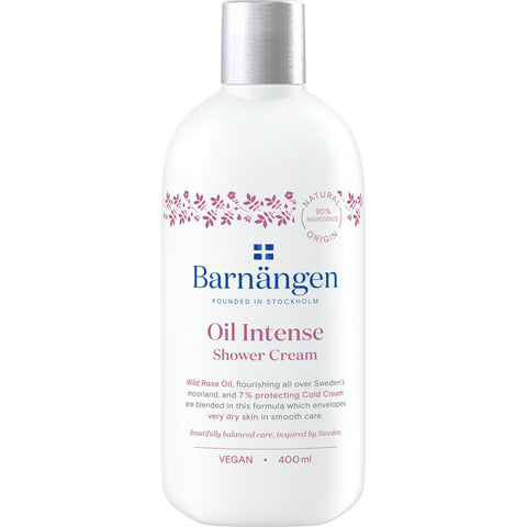 BARNÄNGEN OIL INTENSE SHOWER CREAM 400ML