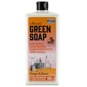MARCEL'S GREEN SOAP AFWASMIDDEL ORANGE & JASMIN