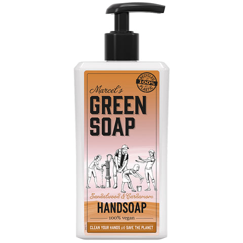 MARCEL'S GREEN SOAP HANDZEEP SANDELWOOD & CARDAMON