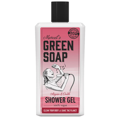 MARCEL'S GREEN SOAP SHOWERGEL ARGAN & OUDH