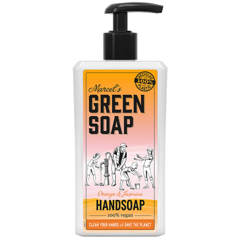 MARCEL'S GREEN SOAP HANDZEEP ORANGE & JASMIN