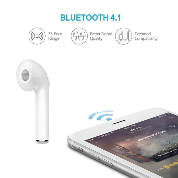 i7 Wireless Bluetooth Headset