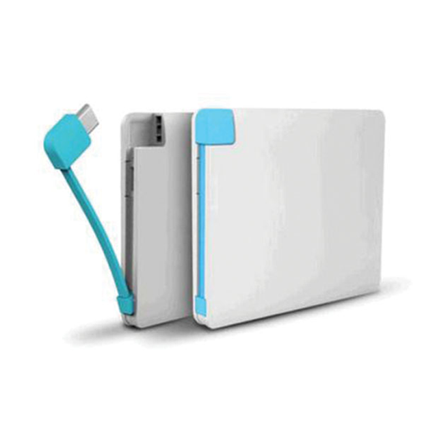 10,000mAH Credit Card Shape Slim Power Bank