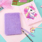 Plush Soft Fur Notebook