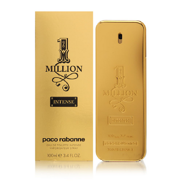 Paco Rabanne EDT Spray, 1 Million Intense, 3.4 Ounce-100ML