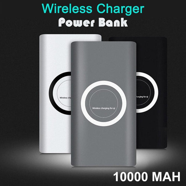 10000 mAh India's Fastest Wireless Power Bank