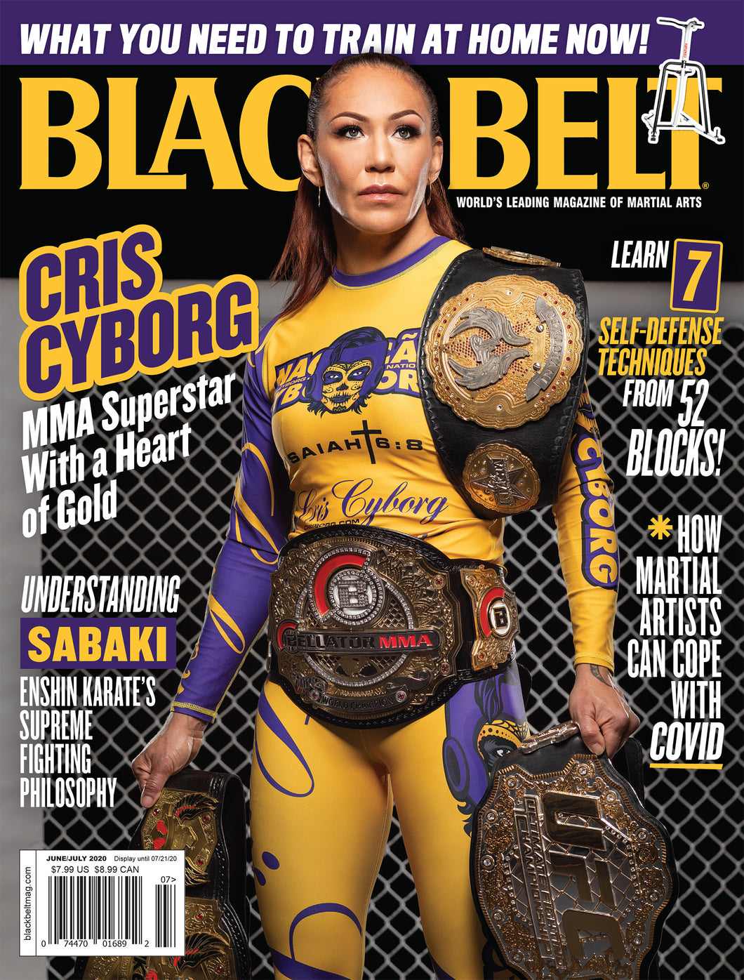 Black Belt Magazine VOL. 58 NO.4