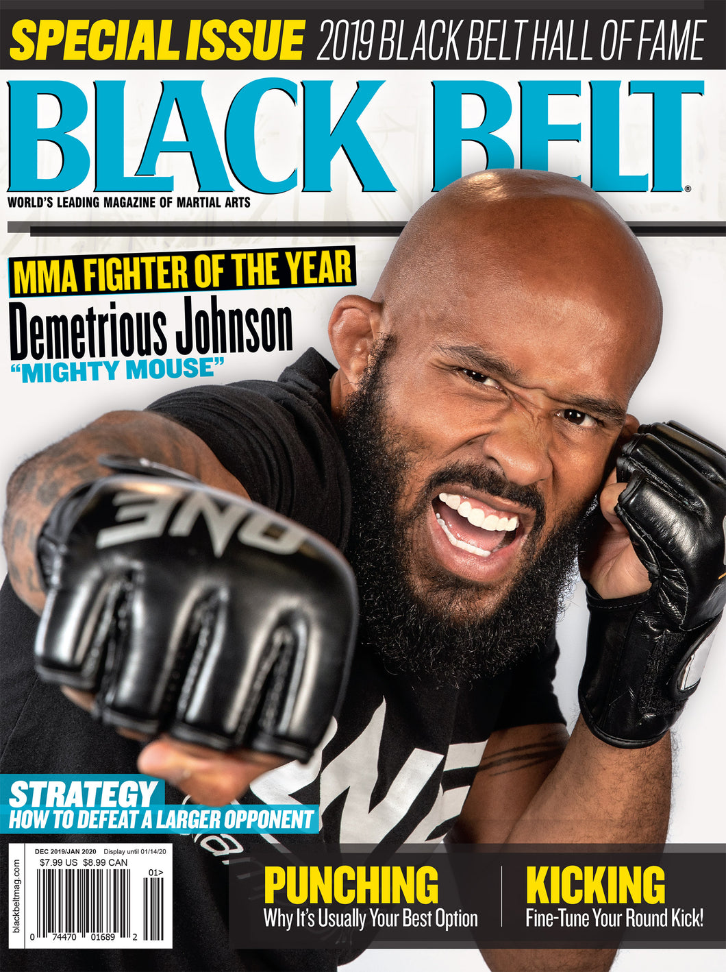 Black Belt Magazine VOL. 58 NO.1
