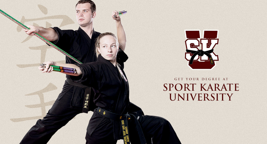 Sport Karate University - Nunchaku Major