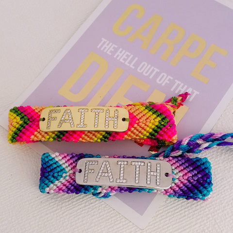 Pulseira Exclusiva Faith