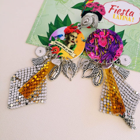 Brincos Exclusivos Frida