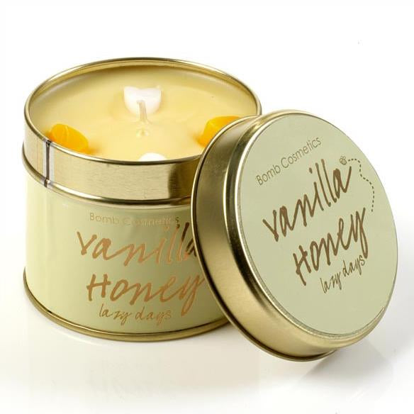 Bomb Cosmetics Vanilla Honey Tinned Candle