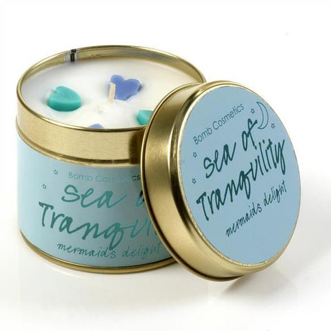Bomb Cosmetics Sea of Tranquility Tinned Candle